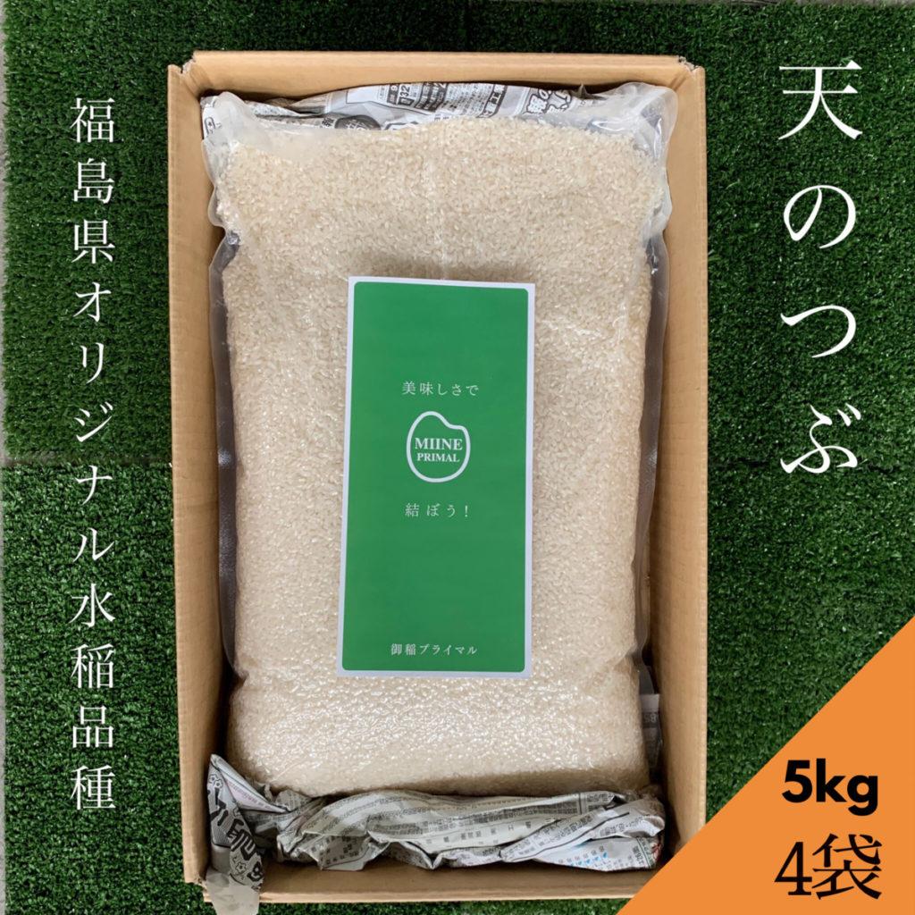 無洗米 送料無料 天のつぶ