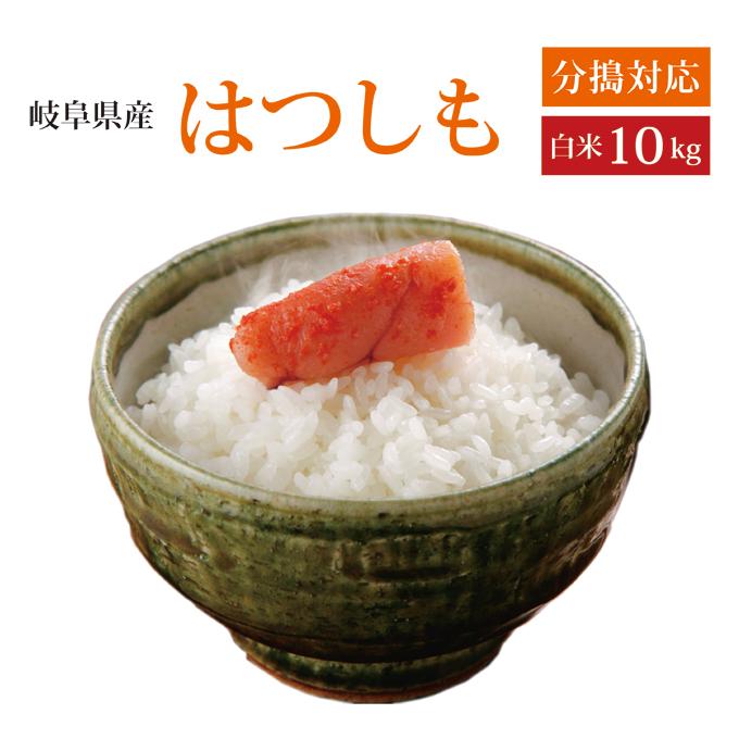 2019年産 岐阜県産れんげの里のお米 ハツシモ