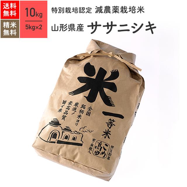 米 ササニシキ 山形県産